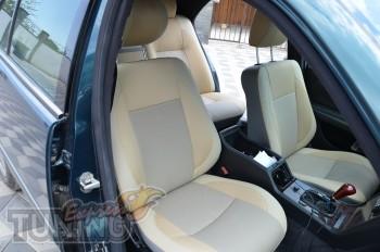 Чехлы в салон Мерседес W210 (авточехлы на сиденья Mercedes W210)