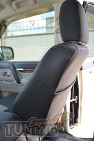 Чехлы Митсубиси Паджеро Вагон 4 (авточехлы на сиденья Mitsubishi