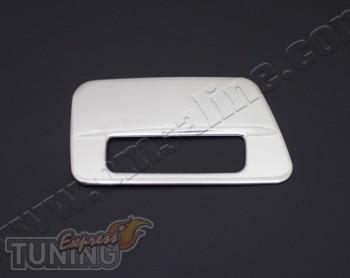 Купить хром накладку на ручку двери багажника Тойота Прадо 120 (