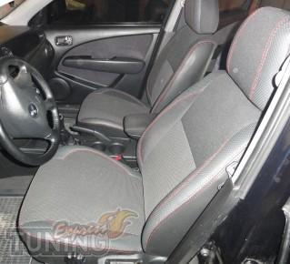 Чехлы Митсубиси Аутлендер (авточехлы на сиденья Mitsubishi Outla