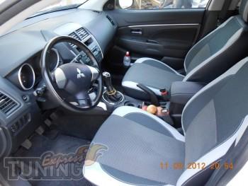 Чехлы в салон Митсубиси АСХ (авточехлы на сиденья Mitsubishi ASX