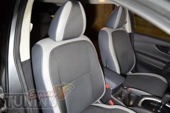 Чехлы в салон Ниссан Кашкай 2 (авточехлы на сиденья Nissan Qashq
