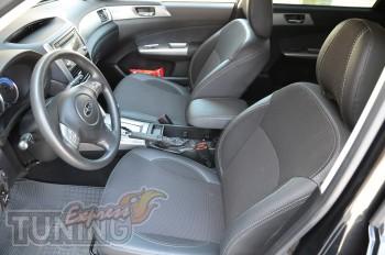 Чехлы Субару Форестер (авточехлы на сиденья Subaru Forester 3)