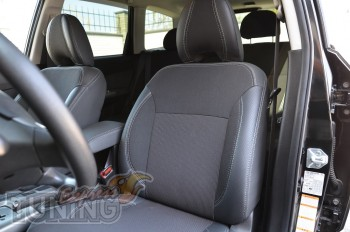 Чехлы в салон Субару Форестер (авточехлы на сиденья Subaru Fores