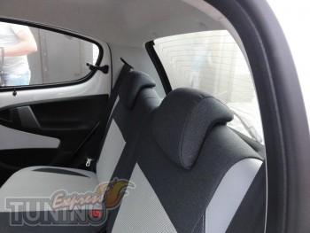 купить Чехлы Тойота Айго (авточехлы на сиденья Toyota Aygo)