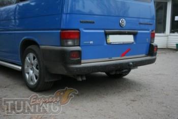 Хромированная кромка крышки багажника Фольксваген Транспортер Т4