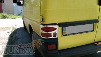 Хром пакет на задние стопы Volkswagen transporter t4 (оригинальн