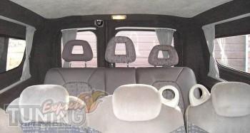 авто шторки Fiat Doblo ( шторки на стекла Фиат Добло)
