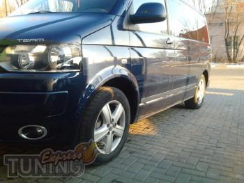 Хром молдинг дверной Volkswagen Transporter T5 (хром накладки на