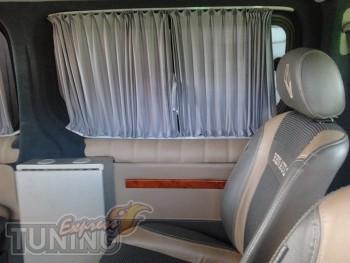 Шторки в салон Рено Кангу Нью (автомобильные шторки на стекло Re