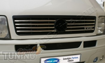 Хромированные накладки на решетку радиатора Volkswagen LT35 (хро