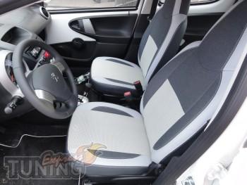 заказать Чехлы Пежо 107 (авточехлы на сиденья Peugeot 107)