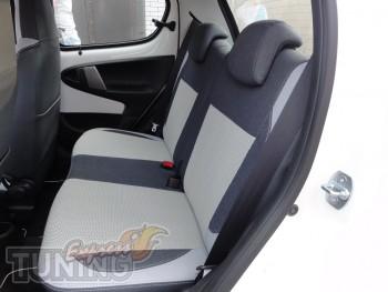 Чехлы в салон Пежо 107 (купить авточехлы на сиденья Peugeot 107)