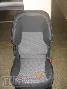 Чехлы в салон Пежо Партнер (авточехлы на сиденья Peugeot Partner