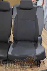 Чехлы для автомобиля Ниссан Кашкай +2 (авточехлы на сиденья Niss