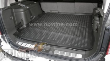 Резиновый коврик Nissan Pathfinder R51 мягкий