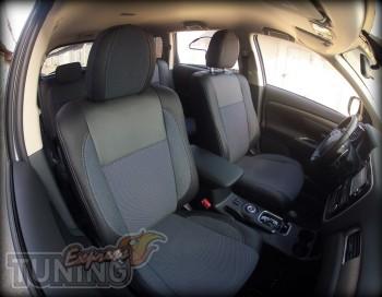 Чехлы Митсубиси Аутлендер 3 (авточехлы на сиденья Mitsubishi Out