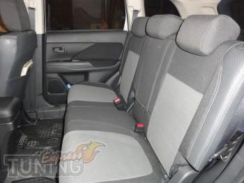 Чехлы для автомобиля Митсубиси Аутлендер 3 (авточехлы на сиденья