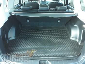 Коврик в багажник Subaru Forester 4 поколения фото оригинал Новл