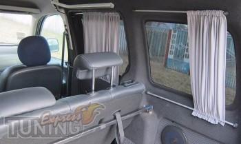 Шторки на стекло Пежо Партнер 1 (автомобильные шторки салон Peug