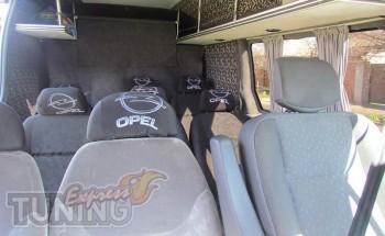 купить Шторки Опель Мовано (заказть автомобильные шторки Opel Mo