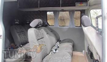 Шторки в салон Опель Мовано (автомобильные шторки на окна Opel M