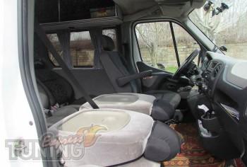 заказать Шторки Опель Мовано (купить автомобильные шторки Opel M