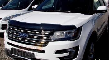 Мухобойка капота Ford Explorer 2016-