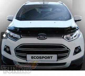 Мухобойка капота Форд ЭкоСпорт 2 (дефлектор на капот Ford EcoSpo