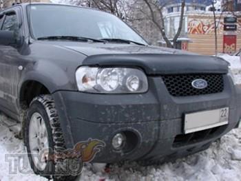 Мухобойка капота Форд Эскейп 3 (дефлектор капота Ford Escape 3)