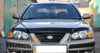 Мухобойка капота Хендай Элантра 3 XD (дефлектор на капот Hyundai