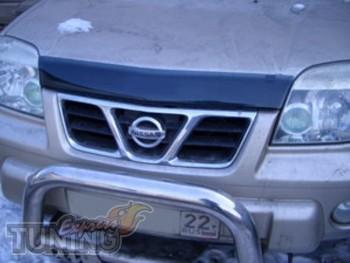 Мухобойка капота Ниссан Х-Трейл Т30 (дефлектор на капот Nissan X