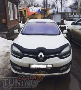 Мухобойка капота Рено Меган 3 RS
