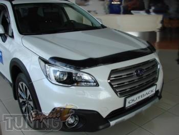 Оригинальный дефлектор на капот Subaru Legacy 6 2015 фото