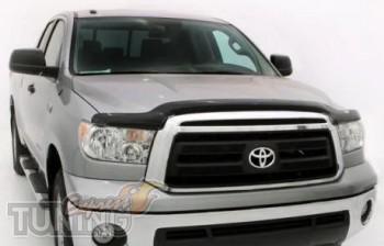 Дефлектор капота Toyota Tundra 2 поколения мухобойка