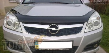 Мухобойка Опель Вектра С (дефлектор капота Opel Vectra C)