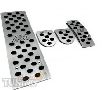 Алюминиевые накладки на педали Audi A6 C7 Мкпп (накладки педалей
