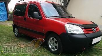 купить Мухобойка Peugeot Partner (дефлектор капота Пежо Партнер)