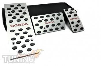 Накладки на педали Хонда Аккорд 8 коробка автомат (накладки на п