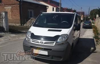 Мухобойка Ниссан Примастар (дефлектор капота Nissan Primastar)