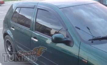 Дефлекторы окон Фольксваген Гольф 4 (ветровики Volkswagen Golf 4