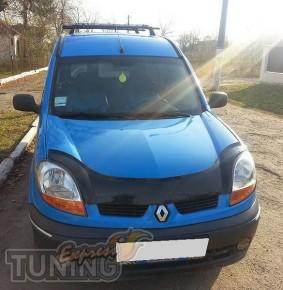Мухобойка Рено Кангу 1 (дефлектор капота Renault Kangoo 1)