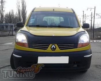 купить Мухобойка Рено Кангу 1 (дефлектор капота Renault Kangoo 1