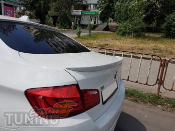 Спойлер на авто Бмв 5 Ф10 (купить спойлер на Bmw 5 F10 Киев)