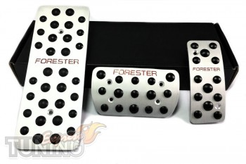 Купить накладки на педали Suabru Forester 2 комплект (алюминиевы