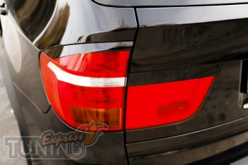Накладки на задние фары для Бмв Х5 Е70 (тюнинг Lumma)