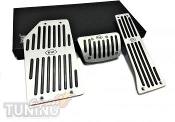 Купить накладки на педали Киа Спортейдж 4 акпп (накладки педалей