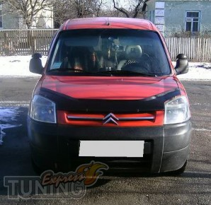 Мухобойка Ситроен Берлинго 1 (дефлектор капота Citroen Berlingo