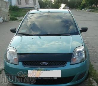 Дефлектор капота Форд Фиеста (дефлектор на капот Ford Fiesta)