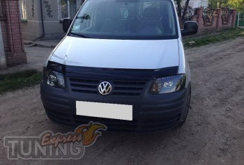 Мухобойка Фольксваген Кадди (дефлектор капота Volkswagen Caddy)